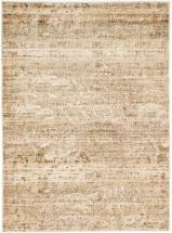 "eCarpet Gallery Impressions Cream, Khaki Machine Made Rug 5'3"" x 7'3"""