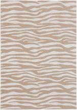 "eCarpet Gallery Portico Beige, Cream Power Loomed Rug 4'0"" x 6'0"""