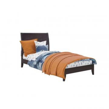 Corliving Ashland Twin/Single Bed In Dark Cappuccino