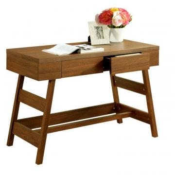 Corliving Folio Warm Oak Two Drawer Desk