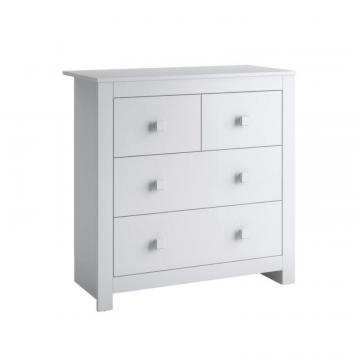 Corliving Madison Chest Of Drawers In Snow White