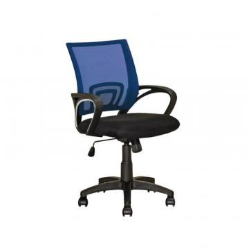 Corliving Workspace Navy Blue Mesh Back Office Chair