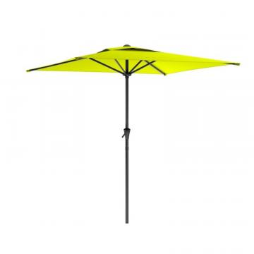 Corliving Square Patio Umbrella in Lime Green