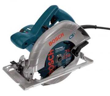"Bosch 7-1/4"" 15 A Left Blade Circular Saw"