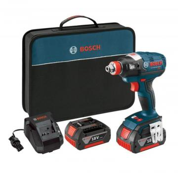 "Bosch 18 V EC Brushless 1/4"" and 1/2"" Socket-Ready Impact Driver"