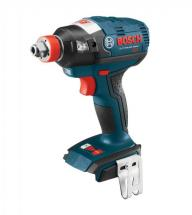 "Bosch 18 V EC Brushless Socket-Ready Impact Driver with 1/4"" Hex and 1/2"" Square Drives"