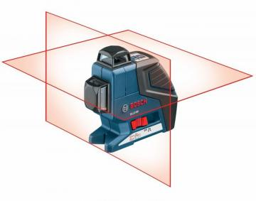 Bosch 360° Dual-Plane Leveling and Alignment-Line Laser
