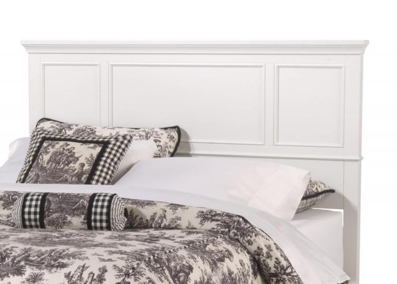 Home Styles Naples White Queen Headboard