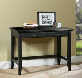Home Styles Bedford Black Student Desk
