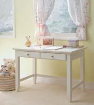 Home Styles Naples White Student Desk