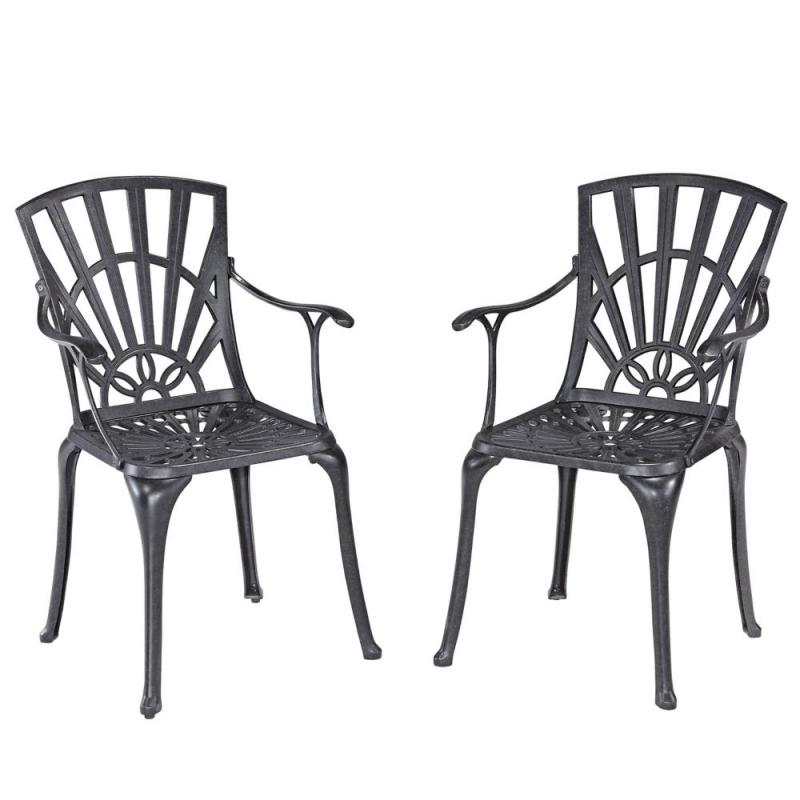 Home Styles Largo Dining Chair (2-Pack) with Cushions