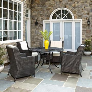 Home Styles Largo 5-Piece Patio Dining Set with Riviera Chairs