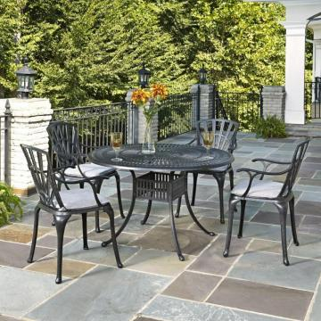 Home Styles Largo 5-Piece Patio Dining Set with Cushions