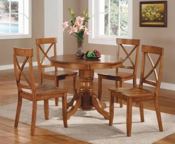 Home Styles Cottage Oak 5pc Dining Set