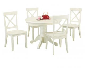 Home Styles White Oak 5pc Dining Set