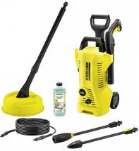 Karcher 1400W 110 Bar Cold Pessure Washer with Patio Cleaner - 230V