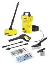 Karcher 1400W 110 Bar Cold Pressure Washer with Patio Cleaner - 230V