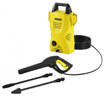 Karcher 1400W 110 Bar Compact Cold Pressure Washer - 230V
