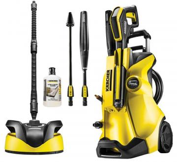 Karcher 1800W 130 Bar Cold Pressure Washer with Patio Cleaner & Detergent - 230V