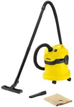 Karcher 12 Litre 1000W Wet & Dry Vacuum Cleaner - 230V