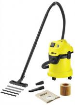 Karcher 17 Litre 1000W Wet & Dry Vacuum Cleaner - 230V