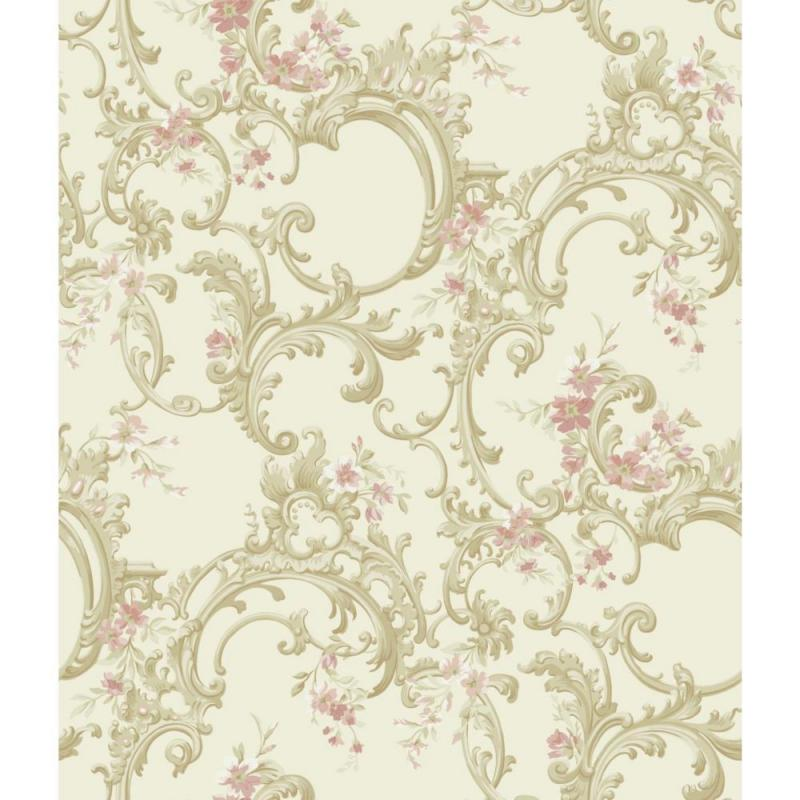 York Saint Augustine Multicolor Floral Trail Wallpaper