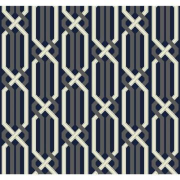 York Carey Lind Vibe Criss Cross Wallpaper