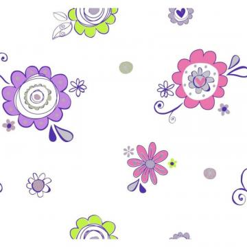 York Room To Grow Doodlerific Floral S Wallpaper