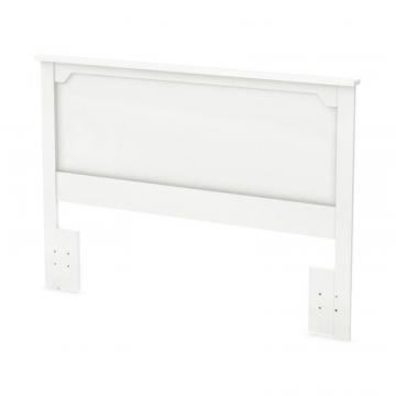 "South Shore Fusion Full/Queen Headboard (54/60""), Pure White"