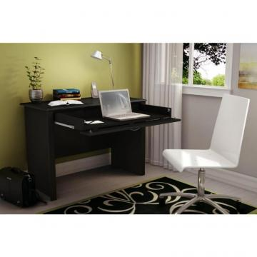 South Shore Work ID Desk, Pure Black
