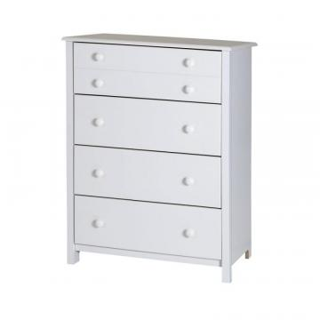 South Shore Little Smileys 4-Drawer Chest, Pure White