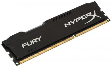 Kingston Hyperx 8GB 1866MHz Fury DDR3 DIMM RAM, Black