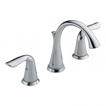Delta Two Handle Widespread Lavatory Faucet, Chrome