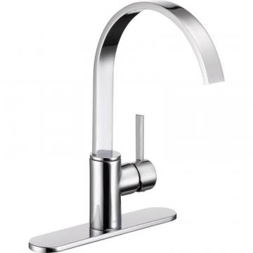 Delta Mandolin Single Handle Kitchen Faucet, Chrome