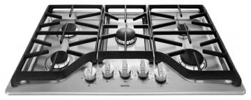 "Maytag 36"" Five Burner Gas Cooktop with DuraGuard Protective Finish"