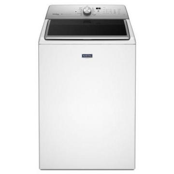 Maytag 6.1 cu. ft. Top Load Washer with PowerWash System in White