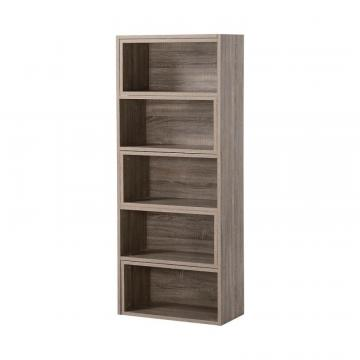 Homestar Expandable Shelving Console in Reclaimed Wood