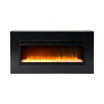 Homestar Mantova 42 Inch Wide Freestanding Firebox in Black