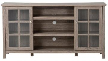 Homestar Provence 60 Inch Wide Media Stand in Reclaimed Wood