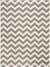 "Safavieh Courtyard Grey / Beige 6 ' 7"" x 9 ' 6"" Indoor/Outdoor Area Rug"