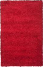 Safavieh California Shag Red 5' 3 In. X 7' 6 In. Area Rug