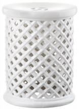 Safavieh Isola Garden Stool in White