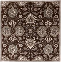 Home Decorators Collection Cambrai Chocolate 6'x6' Square Indoor Area Rug