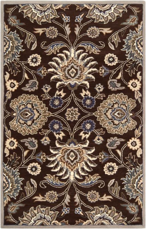 Home Decorators Collection Cambrai Chocolate 8'x11' Indoor Area Rug