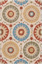 Home Decorators Collection Palomar Rust 5'x8' Indoor Area Rug