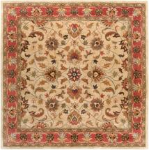 Home Decorators Collection Chaka Red 4'x4' Square Indoor Area Rug