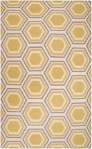 Home Decorators Collection Aisai Gold 5'x8' Indoor Area Rug