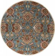 Home Decorators Collection Cambrai Blue 4'x4' Round Indoor Area Rug
