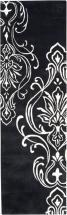 "Home Decorators Collection Clovis Black 2' 6"" x 8' Indoor Runner"