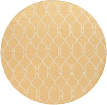 Home Decorators Collection Agios Gold 8'x8' Round Indoor Area Rug